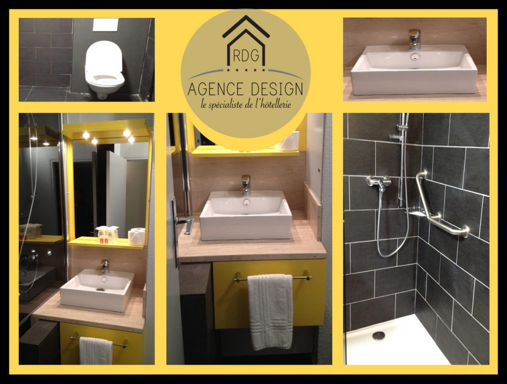 RDG Agence Design - Rénovation de salle de bain