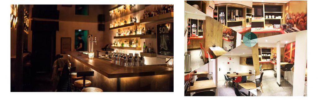 Rénovation bar et hôtel