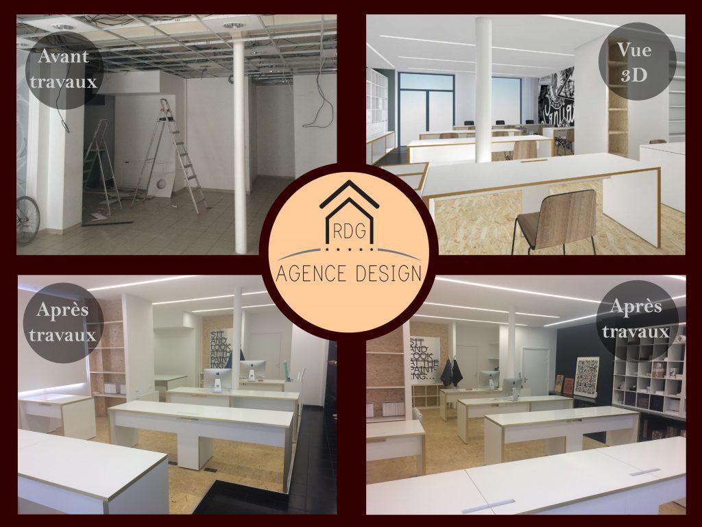 RDG Agence Design - Rénovation de bureaux