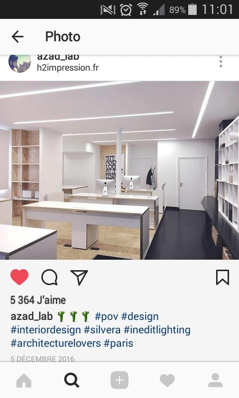 Rénovation de bureaux - RDG Agence Design