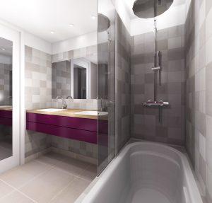 rénovation salle de bain RDG Agence Design
