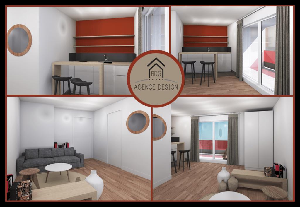 Rénovation studios - RDG Agence Design